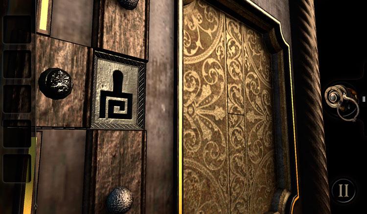 Interfaz gráfica del juego The Room