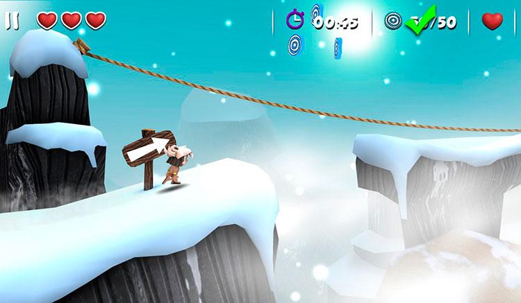 Interfaz gráfica del juego Manuganu