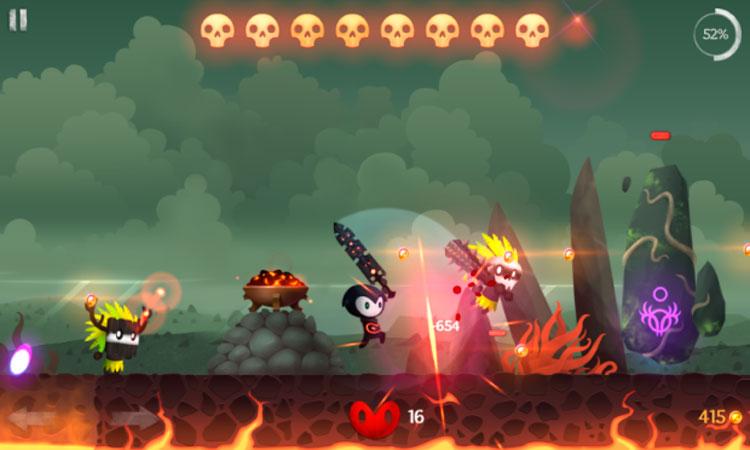 Interfaz gráfica del juego Reaper