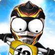 Stickman Downhill Motocross