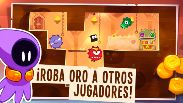Interfaz gráfica del juego King of Thieves