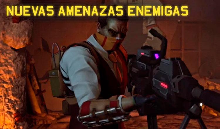 Interfaz gráfica del juego XCOM: Enemy Within