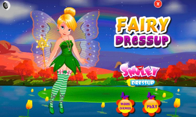 Interfaz gráfica de la app Juego para niños: Princesa
