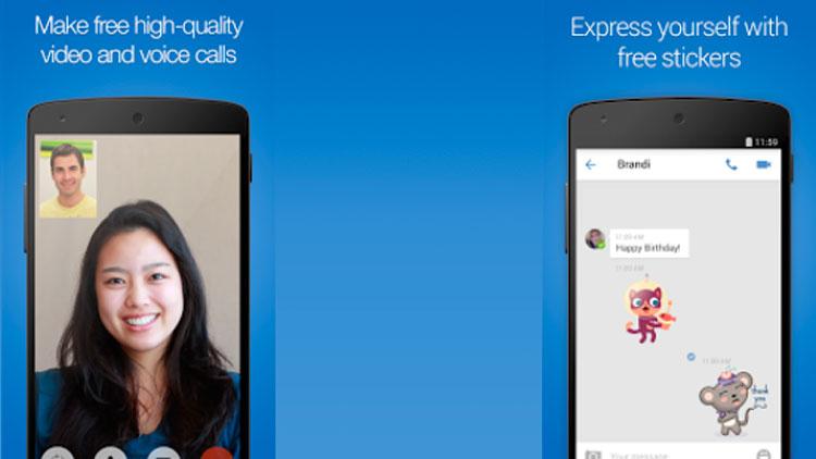 Interfaz gráfica de la app Imo