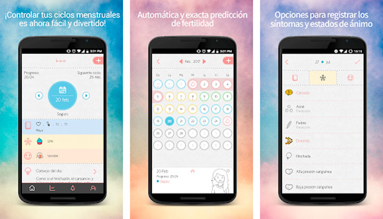 Interfaz gráfica de la app Maya