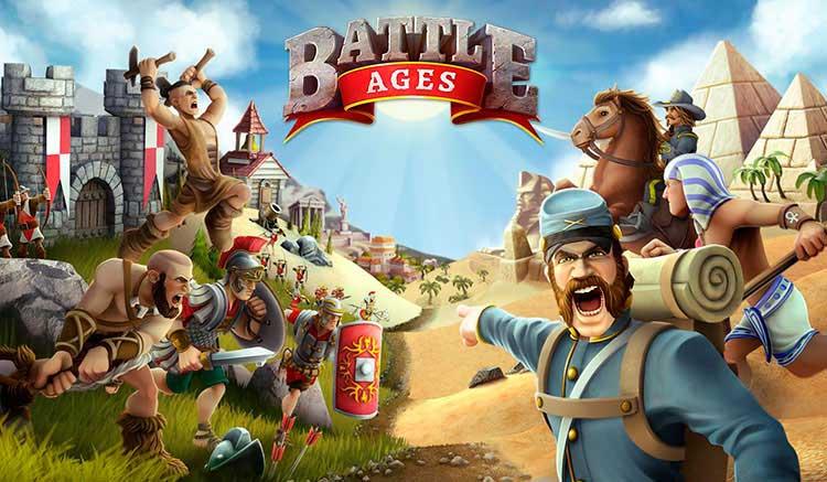 Interfaz gráfica del juego Battle Ages