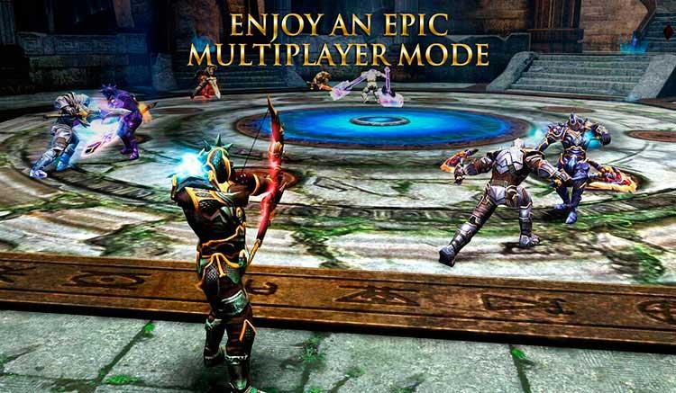 Interfaz gráfica del juego Wild Blood