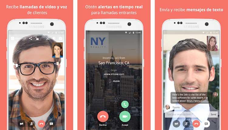 Interfaz gráfica de la app Gruveo