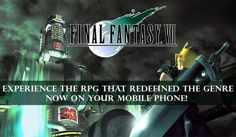 Interfaz gráfica del juego Final Fantasy VII