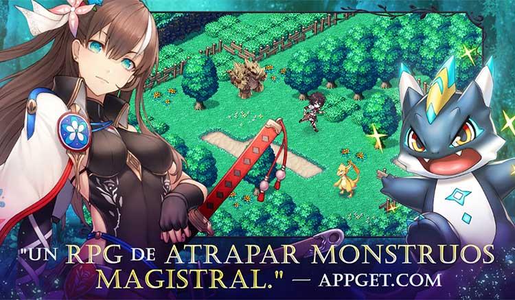 Interfaz gráfica del juego Evertale
