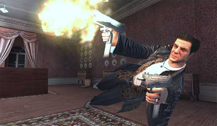Interfaz gráfica del juego Max Payne Mobile